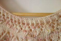 Loveheart Crop Knitting Pattern by Littletheorem Knits