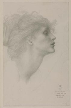 Sir Edward Coley Burne-Jones, Bt, 'Desiderium' 1873 In 1872 Burne-Jones embarked on a group of drawings illustrating 'The Masque of Cupid', a subject taken from Edmund Spenser's great allegory, 'The Faerie Queene'. The head in this drawing is that of Amorous Desire, who is depicted, as in Spenser's description, blowing gently to awaken the sparks of passion. Over twenty years later, in 1897, Burne-Jones returned to his Spenserian drawings. However, far from stimulating new work on this…