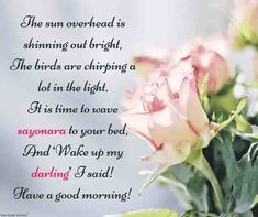 Looking for romantic good morning poems for her to compliments her by a beautiful poem and surprise your girlfriend or wife with this sweet lines. Morning Poem For Her, Good Morning Wishes Love, Good Morning Poems, Cute Good Morning Texts, Morning Love Quotes, Good Morning Greetings, Cute Love Poems, Love Poem For Her, Love Quotes For Her
