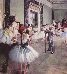 """My all time favorite painting.""""The Dance Class"""" by Edgar Degas.... Mine too, I had this in my room in NY and I have one for Ariana's room too."""