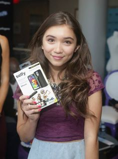 LOS ANGELES, CA - AUGUST 23: Actress Rowan Blanchard attends Kari Feinstein's Style Lounge presented by Paragon at Andaz West Hollywood on August 23, 2014 in Los Angeles, California. (Photo by Alison Buck/WireImage) 2014 WireImage