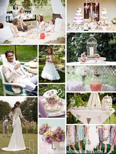 English tea party ~ Alice in Woderland ~ Love the idea of a Croquet game :)