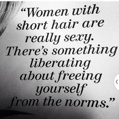 Something liberating about freeing yourself from the norms ❤️ ~M4U~