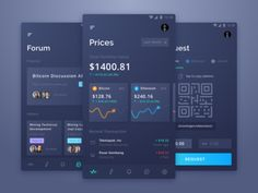 Cryptocurrency Wallet designed by Rian Darma. Connect with them on Dribbble; the global community for designers and creative professionals. Web Design, App Ui Design, Mobile App Design, Mobile Ui, Flat Design, Dashboard App, Dashboard Design, Cryptocurrency Trading, Bitcoin Wallet