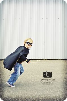 dress my kid up as batman for halloween.