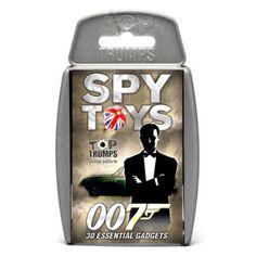 Top Trumps James Bond Spy Toys - 007 Essential Gadgets