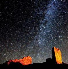 Stargazing in Northumberland National Park.