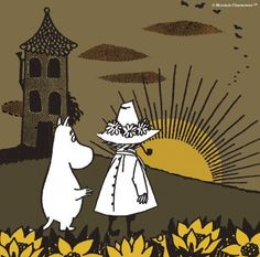 ムーミン公式サイト(@moomin_jp)さん | Twitter Sun Sisters, Moomin Valley, Troll Party, Tove Jansson, Children's Book Illustration, Cute Art, My Drawings, My Idol, Art Projects