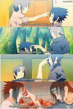 Sasuke Uchiha and Itachi Uchiha Brothers :'(