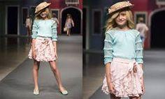Resultado de imagen para faldas de niña de moda 2016