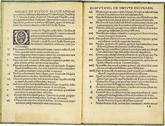 """""""Ninety-five Theses"""", by Martin Luther. a very important book sparked the reformation. Propounded two central beliefs, that the Bible is the central religious authority and that humans may reach salvation only by their faith and not by their deeds English Reformation, Reformation Day, Protestant Reformation, Martin Luther Reformation, Church History, Churches Of Christ, History Projects, Research Paper, December"""