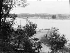 Bateman's Bay,in the South Coast of New South Wales (year unknown). New South, South Wales, Coast, Australia, River, History, Outdoor, Outdoors, Historia