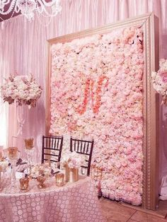 Wedding Flower Decoration 4 PCS Dual Tone Blush and Cream Silk Hydrangea Flower Mat Wall Backdrop Photography Panel Photo Booth Wedding Event Decor Quince Decorations, Wedding Flower Decorations, Stage Decorations, Wedding Flowers, Flower Wall Wedding, Wedding Wall, Floral Wedding, Blossom Tree Wedding, Pink And Gold Wedding