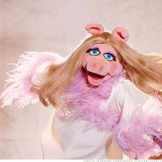 miss piggy.. I always hated her annoying voice!!