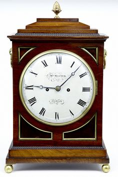 Antique Irish Mantle Clock www.canonburyantiques.com