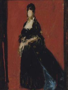 Émile-Auguste Carolus-Duran, Study for a portrait of a lady