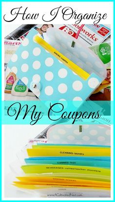 Coupon Organization for Ordinary People! Couponing doesn't have to be complicated or take loads of time in order to work for you. I am NOT an extreme couponer yet I save money every week using coupons. I organize my coupons in a way that allows me to easily use them. Here's how I do it - maybe it can help you too!