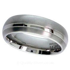 Geti Banded Titanium Ring