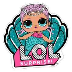 #LOLSurprise #Serviette #Sirène #Plage Elmo Party, Doll Party, Mermaid Birthday, 7th Birthday, Boutique Disney, Personajes Monster High, Lol Doll Cake, Painted Canvas Shoes, Bottle Cap Images