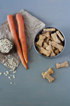 Carrot and oat dog biscuit recipe
