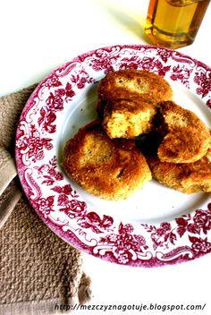 Kotlety z ciecierzycy Pancakes, French Toast, Breakfast, Food, Morning Coffee, Essen, Pancake, Meals, Yemek