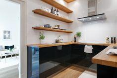 Renoverat stilrent kök från danska Kvik