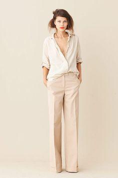 New Style Vestimentaire Femme Pantalon Large 59 Ideas Looks Style, Style Me, Look Zara, Look Street Style, Pantalon Large, Inspiration Mode, Mode Outfits, Mode Style, Work Fashion