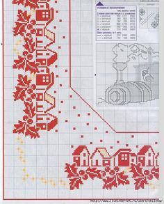 Thrilling Designing Your Own Cross Stitch Embroidery Patterns Ideas. Exhilarating Designing Your Own Cross Stitch Embroidery Patterns Ideas. Cross Stitch Borders, Cross Stitch Designs, Cross Stitch Patterns, Fabric Christmas Trees, Christmas Table Cloth, Hand Embroidery Designs, Embroidery Patterns, Christmas Embroidery, Christmas Cross
