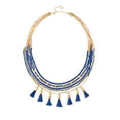 Tulum Tassel Necklace, Stella & Dot $98