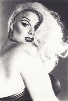 """Divine so opposite out of drag. A sweet sweet unassuming person. She left us too soon. It's was """"Van"""" her make up artist who really made:""""Divine"""". Drag Queens, Rupaul, Beautiful One, Beautiful People, Burlesque, All Star, Divas, Divine Goddess, John Waters"""