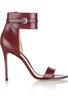 GIANVITO ROSSI Leather sandals. Was $796.70 Now $398.35 50% OFF: http://rstyle.me/n/vwrsvr6gw