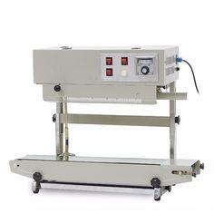 continuous band sealer Automatic sealer for plastic bag plastic film with Coding Printer FR-900V (110V/ 60HZ)