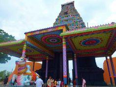Nagapooshani Amman Temple, Nainativu. Sri Lanka