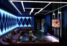 Phandecor/designer/karaoke/hcm/vietnam Bar Interior Design, Pub Design, Foyer Design, Lounge Design, Lounge Decor, Menu Restaurant, Restaurant Design, Nightclub Design, Karaoke Party