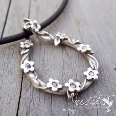 Zilverklei hanger   Silver Clay pendant