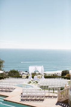 An Elegant Seaside Wedding at Oceana Estate in Laguna Beach, California | Luxury Estate Weddings & Events | Theknot.com