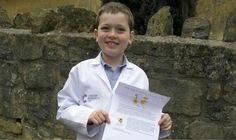 Oscar Sawyer, un niño británico de ocho años, ha escrito a la organización benéfica Cancer Research UK expresando su propuesta sobre cómo combatir el