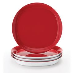 Give your table and your favorite dish a modern makeover with the stylish design of the Rachael Ray Dinnerware Round & Square Collection Dinner Plates. Rachael Ray Dinnerware, Dinner Sets, Dinner Plates, Kitchenware, Kitchen Decor, Cook, Cool Stuff, Collection, Ideas