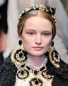 Dolce & Gabbana Sfilata Autunno Inverno 2012/2013