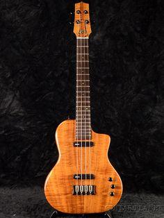 Island electric baritone ukulele