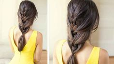 The Relaxed French Braid | 23 Creative Braid Tutorials That Are Deceptively Easy