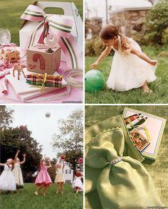 Ideas para los niños en las bodas