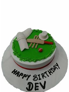 For the cricketer in your child. Made of Fresh Cream, topped with Fondant stumps, hat, bat and ball. Available in flavor of your choice.