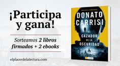 El cazador de la oscuridad de Donato Carrisi