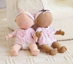 Abby and Lucy Baby Dolls | Pottery Barn Kids