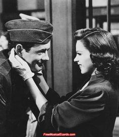 The Clock 1945 Judy Garland | ... Pride Forum - Judy Garland publicity photos in The Clock (1945 film