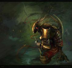 Creature concept Picture  (2d, illustration, concept art, creature, fantasy)