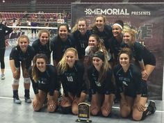2016 SunDome Volleyball Festival 2A/3A/4A Champions - West Valley (Yakima)