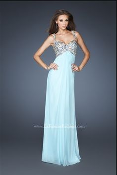 baby blue prom dress :)