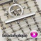 Tutorial - Videos: How to Bead Weave an Openwork Style Tila Bead Bracelet   Beadaholique